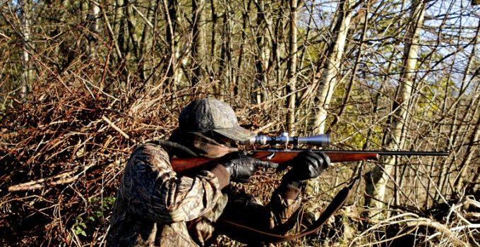 chasser en pleine nature