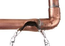 Comment réparer un tuyau éclaté